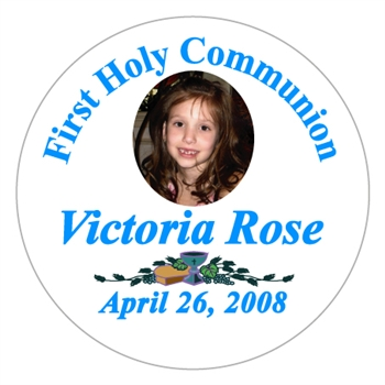 Communion Photo Lollipop