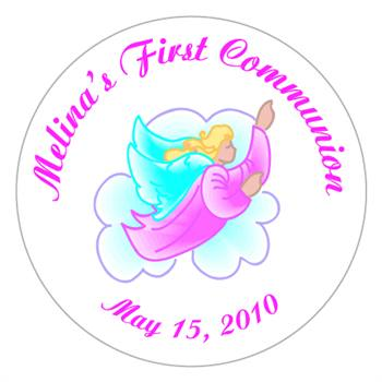 Communion Angel Label