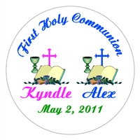 Communion Double Bible Chalice Cross Lollipop