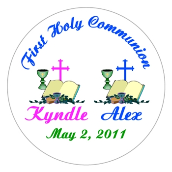 Communion Bible Label