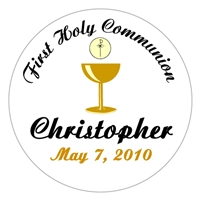 Communion Gold Chalice Lollipop