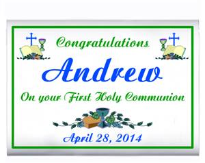 Communion Congratulations Popcorn