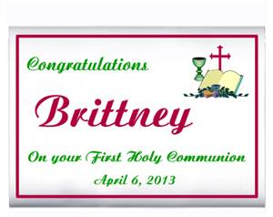 Communion Congratulations Bible Popcorn