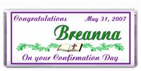 Confirmation Bible Vine Candy Bar