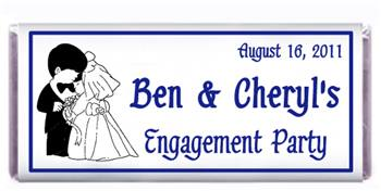 Engagement Precious Moments Candy Bar