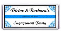 Engagement Candy Bar Favors