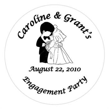 Engagement Precious Moments Label