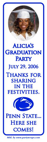 Graduation Photo College Logo Bookmarkers