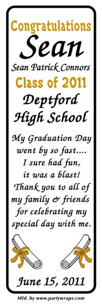 Graduation Diploma Bookmarkers