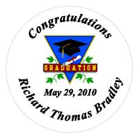 Graduation Triangle Label