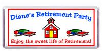 Retirement Schoolhouse Candy Bar