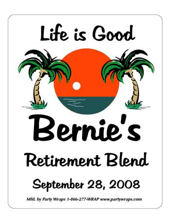 Retirement Palms Label