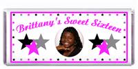 Sweet 16 Photo Stars Candy Bar