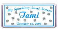 Sweet 16 Snowflakes Candy Bar