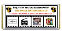 Sweet 16 Movie Film Candy Bar