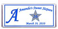 Sweet 16 Initial Candy Bar