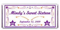 Sweet 16 Star Spray Candy Bar