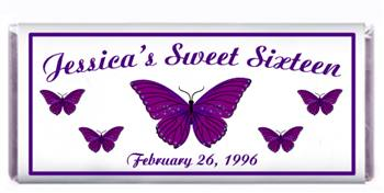 Sweet 16 Butterflies Candy Bar
