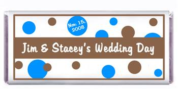 Wedding Polka Dots Candy Bar