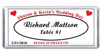 Wedding Table Setting Candy Bar