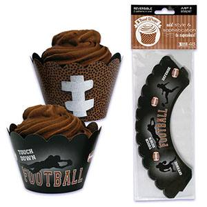 Football Cupcake Wrapper