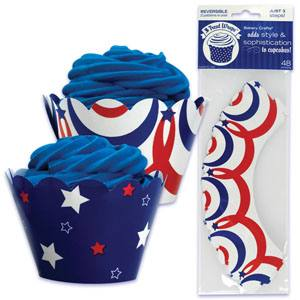 4th of July Cupcake Wrapper
