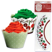 Christmas Cupcake Wrapper