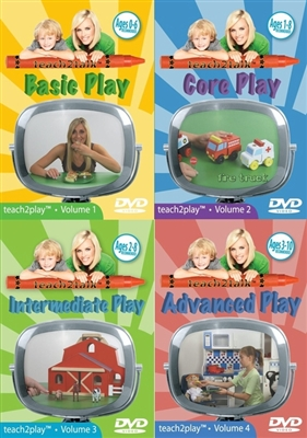 teach2play Series - Complete Four Volume Set