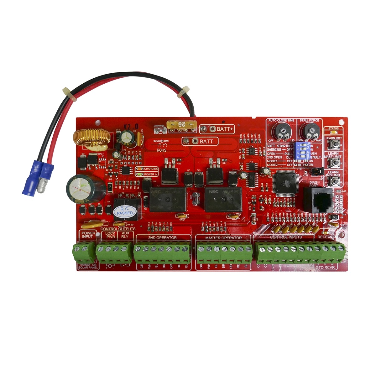 r4211 automatic gate opener replacement control mighty mule storemighty mule replacement circuitboard r4211 mighty mule replacement control board