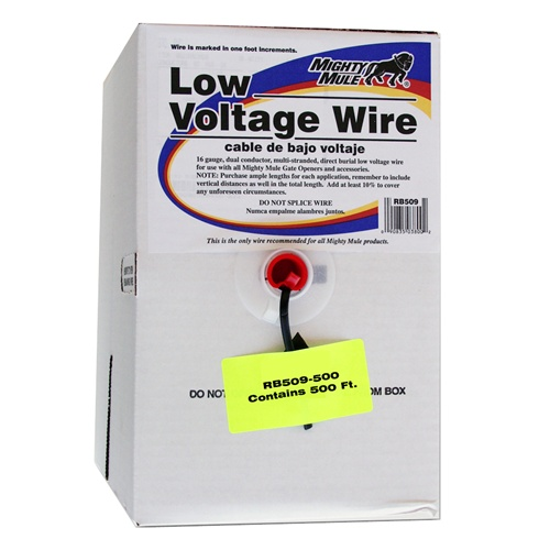 rb509 500 500ft low voltage wire mighty mule store