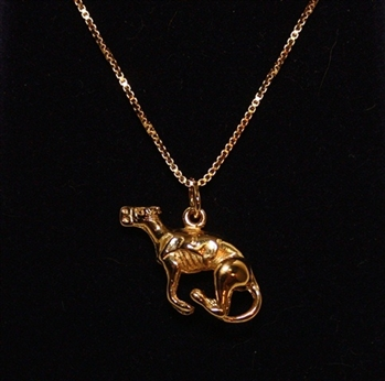 Tucked Running Greyhound Pendant