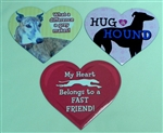 Large Heart Magnet