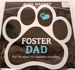 Foster Dad Paw