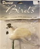 "Darice Birds 3"" Flying Bridal Dove Couple"