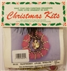 Raspberry Angel Wreath Christmas Ornament Kit