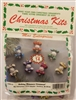 Holiday Miniature Beaded Christmas Ornament Kit