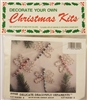 Delicate Dragonfly Beaded Christmas Ornament Kit