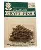 "1-1/2"" Silver Craft Pins, 90 pcs"