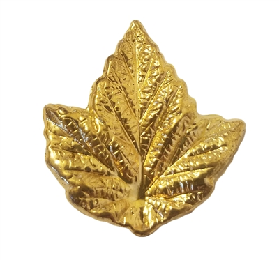 Gold Tone Metal Maple Leaf Jewelry Findings