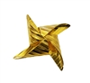 Gold Tone Metal Chinese Origami Star Findings Craft Accents
