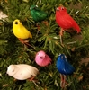 Small Artificial Multi-Color Birds (6 ct)