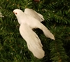 Artificial White Dove Bird