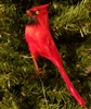 "5"" Red Cardinal Artificial Bird"