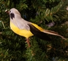 "4"" Yellow Bellied Artificial Bird"