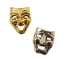 Comedy Tragedy Masks Cabochons Charms