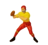 Miniature Plastic Football Player