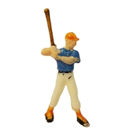 Miniature Plastic Baseball Player