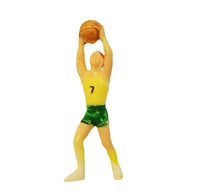 Miniature Plastic Basketball Player
