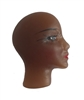 Small Black African American Plastic Face Cameo Head