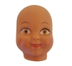 Large Black African American Girl Doll Face Mask
